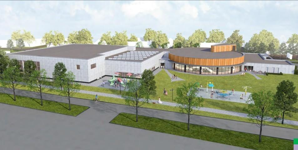 Plannen nieuw zwembad gepresenteerd rtv katwijk